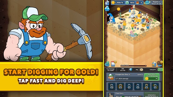 Tap Tap Dig 2: Idle Mine Sim Apk+Data Free on Android Game Download
