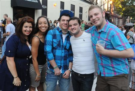 Philly Outfest Party Sunday 10 9 11 Photos Faces
