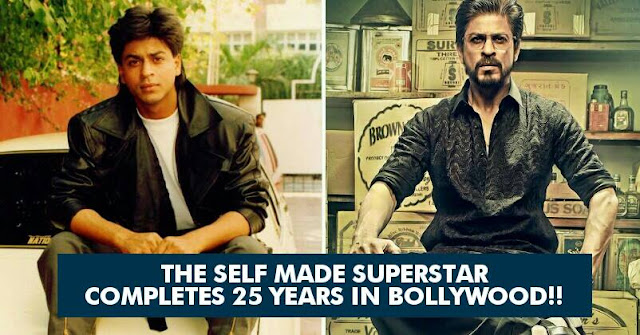 Shah Rukh Khan Completes 25 Years in Bollywood