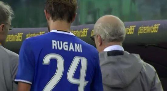 DANIELE RUGANI; infortunio in Palermo Juventus