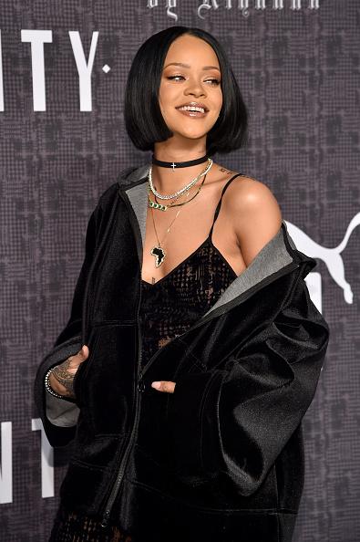 """Rihanna presenta la colección """"FENTY X PUMA"""" en desfile del New York Fashion Week."""