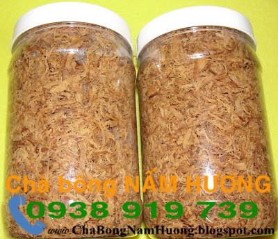 Thành phần và hướng dẫn sử dụng chà bông nấm hương, ruốc nấm hương