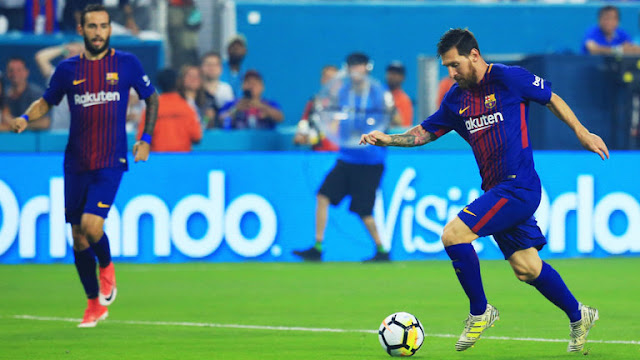 A Score And Assist From Lionel Messi