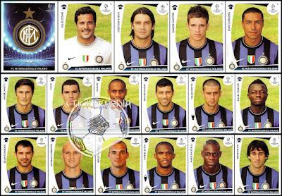 Inter Panini Champions League 2009/10