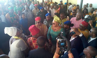 Photos: Governor Obiano receives Certificate of Return from INEC
