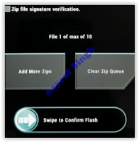 swap to confirm flash