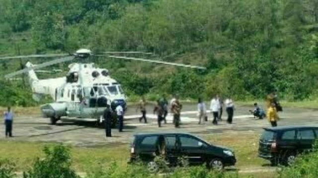 Jokowi Disindir Pakai Helikopter ke Madura