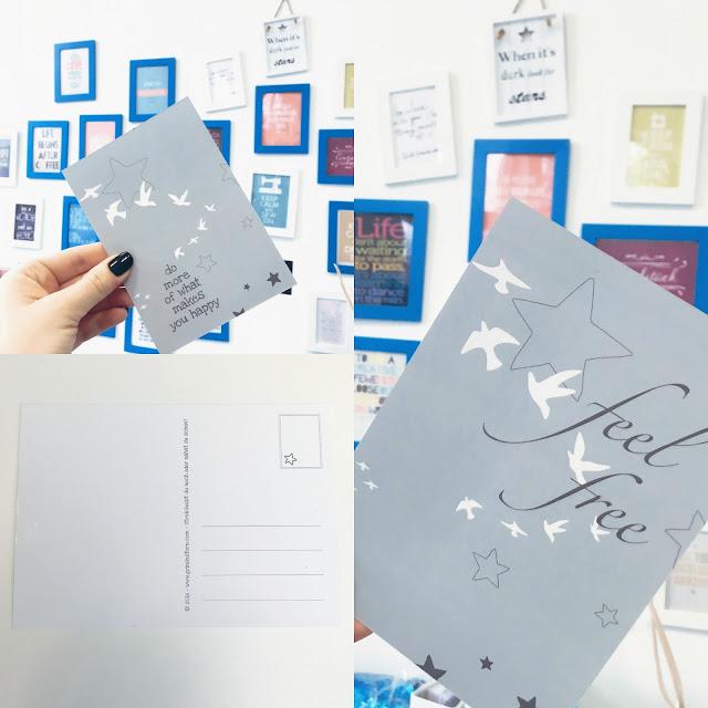 GrinseStern, Postkarten, GrinseStern 1.0, Eigenproduktion,
