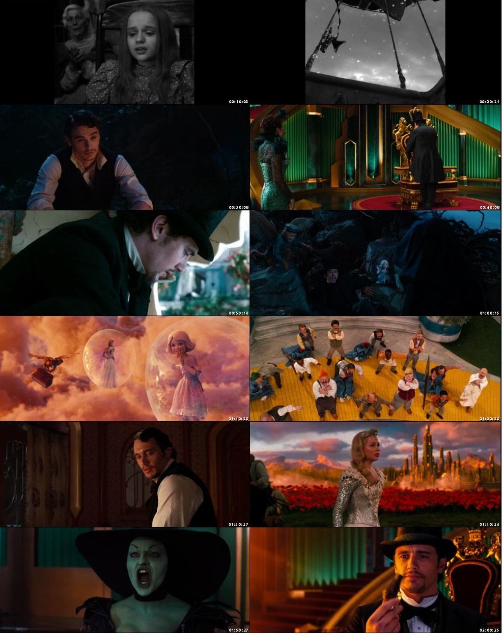 Oz The Great And Powerful 2013 Dual Audio Hindi 400MB BluRay 480p x264
