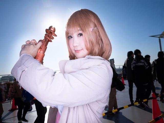 Cosplay Narusawa Ryouka Occultic;Nine terbaru kawai