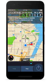 تحميل تطبيق All GPS Tools Pro Compass, Weather, Map Location