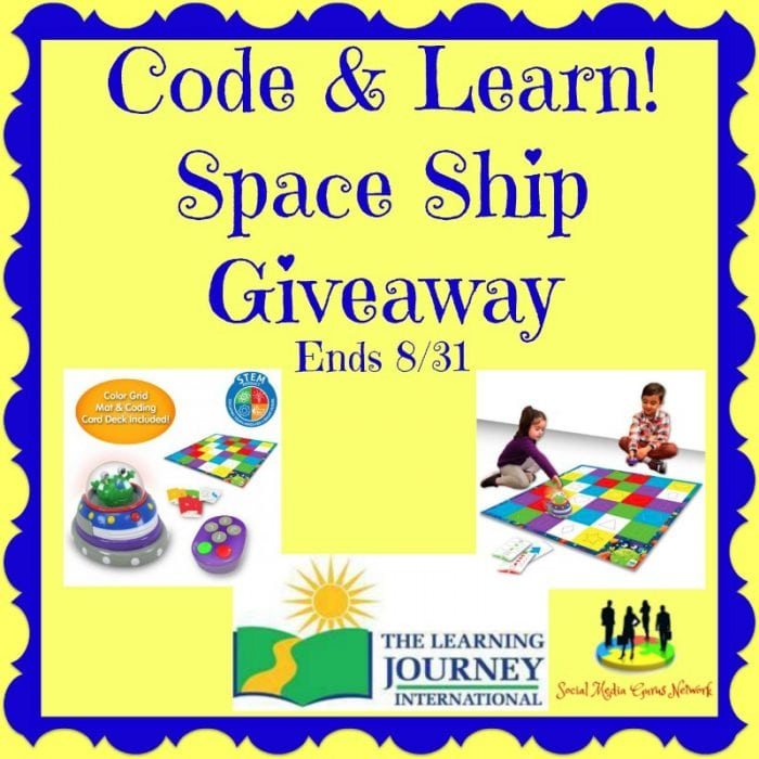 Code & Learn Spaceship Giveaway!