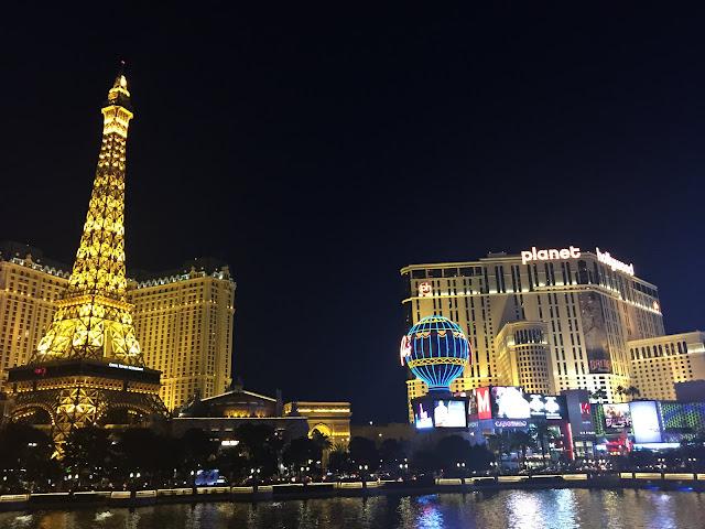 Hotéis na Strip, Las Vegas.