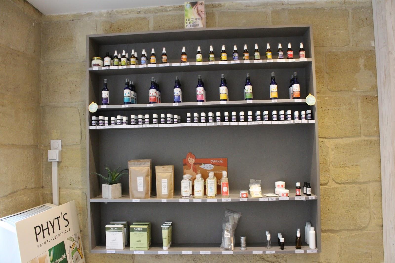 A la d couverte de la boutique naturelle bio odessence for La boutique bordeaux
