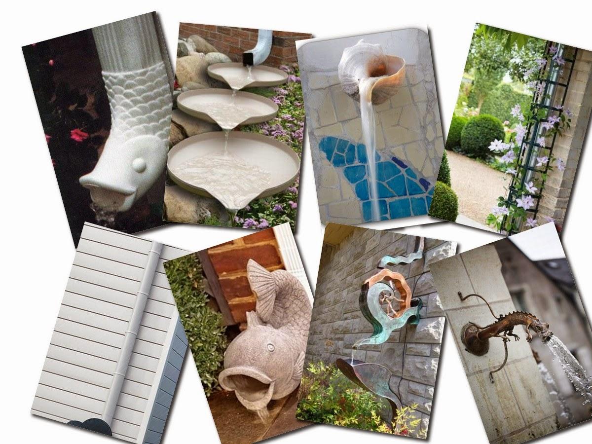 Amazing Rain Gutter Design Ideas