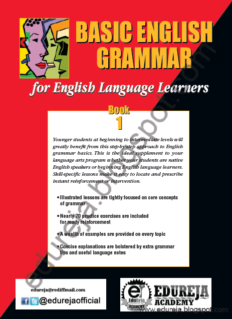 Learning English Grammar Book For Beginners E Book Pdf Book