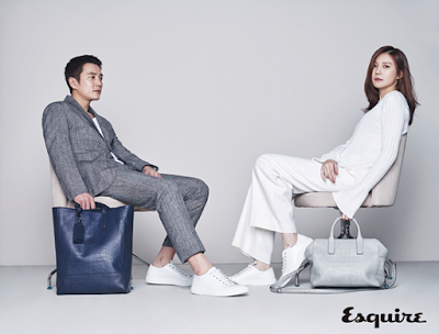 Cha Ye Ryun Joo Sang Wook Esquire March 2016