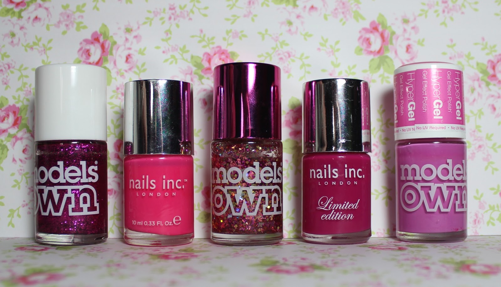 top 5 pink nail polishes