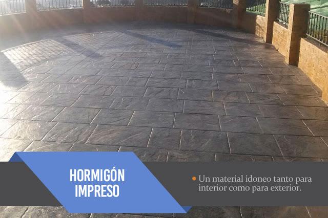 Hormigón pulido e impreso en Cádiz
