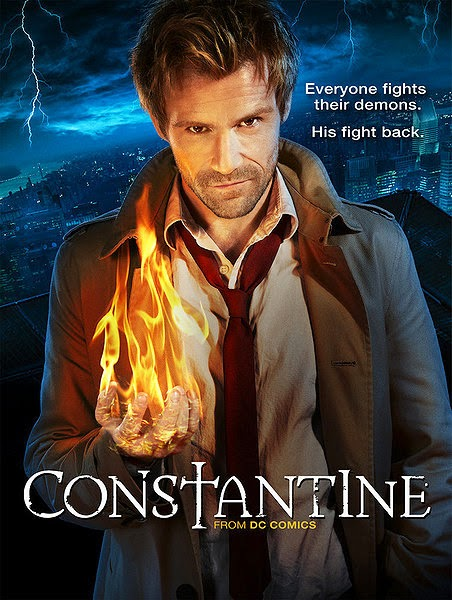 NBC Constantine Matt Ryan 2014 TV Show poster wallpaper image picture screensaver DC Comics Hellblazer character