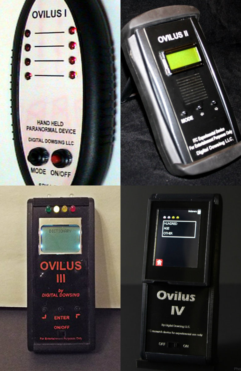 Angels Of Light Paranormal Society: Tech Review: Ovilus 5b