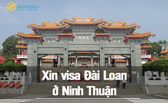 xin visa Đài Loan ở Ninh Thuận như thế nào ?
