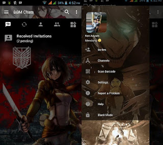 BBM Mod Attack on Titan