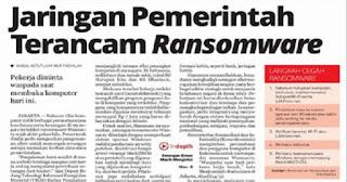 Waspada Nyalakan Komputer, Jaringan Pemerintah Terancam Ransomware
