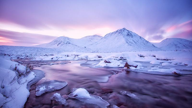 Surreal Winter Landscape