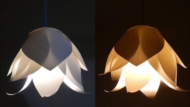 DIY, DIY Crafts, DIY Project, Diy Paper Crafts, DIY Paper Flower Light, Flowers, Diy Lights, Diy Home Decor