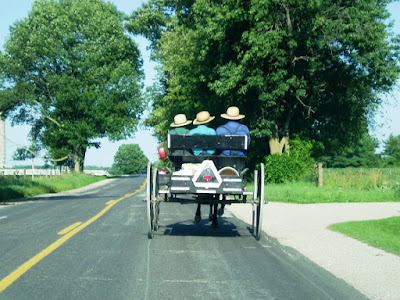 Amish Buggy Rides in Bird-in-Hand Pennslvania
