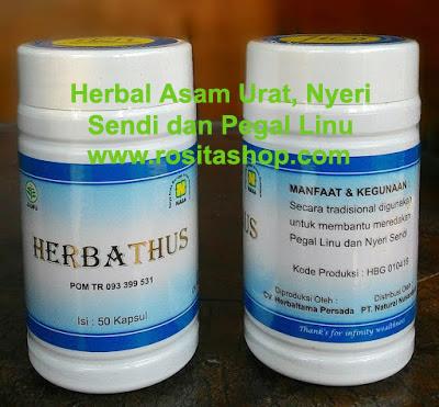 Herbathus Nasa asam urat