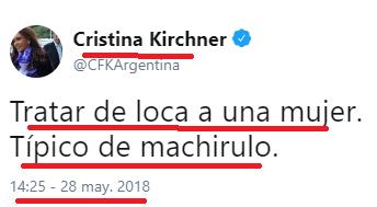 Machirulo: el mejor tuit del año