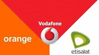 شركات الاتصال المصرية اورانج و فودافون واتصالات يعلنون امتلاك رخصة الجيل الرابع