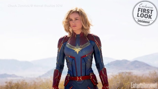 Captain Marvel graces Entertainment Weekly, reveals plot