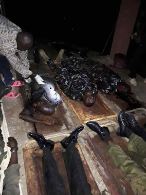 SHOCKING: Gunmen Kill 7 Policemen In Abuja (Graphic Photo)