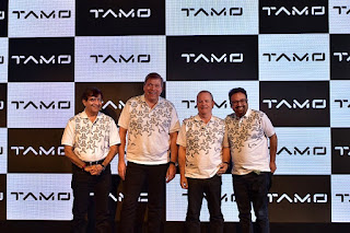 (In the image, Left to Right), Mr. Guenter Butschek, CEO & MD, Tata Motors, Mr. Mayank Pareek, President, Passenger Vehicle Business Unit, Tata Motors, Dr. Tim Leverton, Head – Advanced and Product Engineering, Tata Motors and Mr. Pratap Bose, Head of Design, Tata Motors, at the launch of 'TAMO', a new sub-brand by Tata Motors. As an incubating center of innovation, TAMO will network with global startups and leading tech companies, to get access to trends, innovations and solutions, for the design of exciting future products and services.