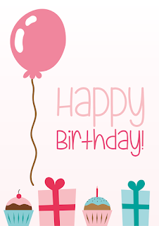 Printable Birthday Cards 3