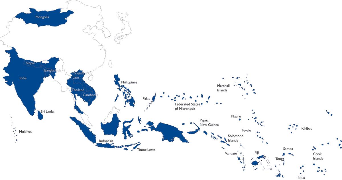 Asian island nations