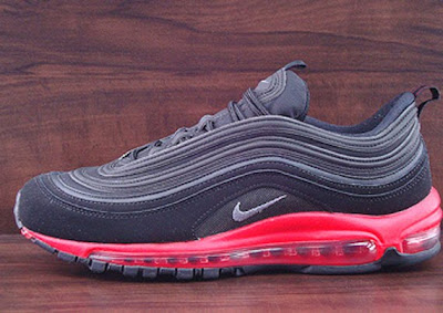 c8c14f19701fdd Wake N Lace  Nike Air Max 97- Black Challenge Red