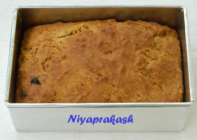 Niya S World Aashirwaad Atta Eggless Banana Bread