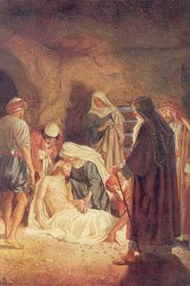 Jesus é sepultado