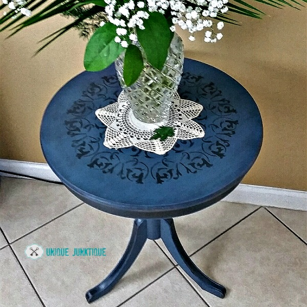 drum table makeover