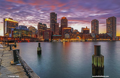 Creative Photo Adventure: Boston Financial Waterfront and Boston Harbor Skyline Photography