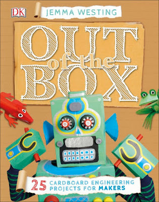 Out of the Box 25 Cardboard Engineering Projects for Makers is perfect for home projects or school maker spaces. From tube owls to ring toss games and penguin families to pirate ships, this book will keep kids engaged and entertained with hands-on projects!