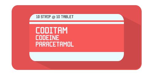 Coditam - Acetaminophen Codeine