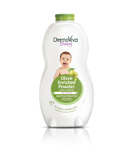 Product Placement- DermoViva Olive Enriched Powder