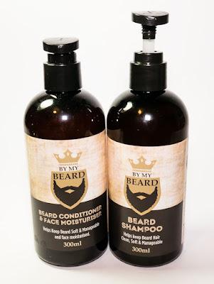 By My Beard Shampoo and beard Conditioner & Face Moisturiser