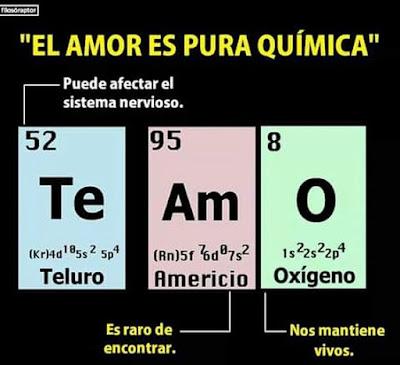Amor y Química