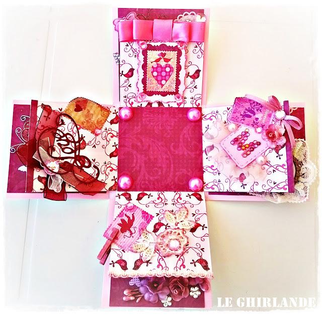 Explosion Box colore Rosa